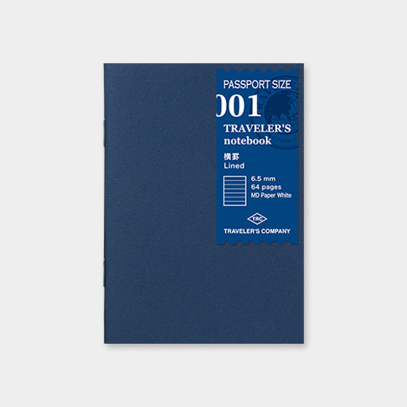 TRAVELER'S notebook Refill <Passport Size> Line MD 001 - The Outsiders