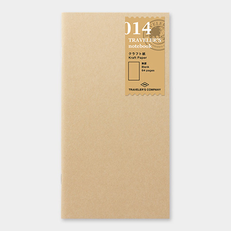 TRAVELER'S notebook Refill Kraft Paper Notebook 014 - The Outsiders
