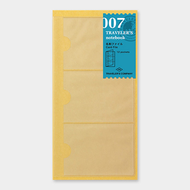 TRAVELER'S notebook Refill Card file 007 - The Outsiders
