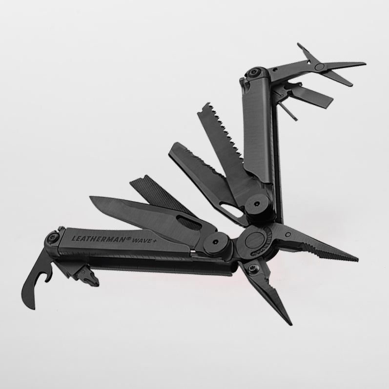 Multitools leatherman wave plus black