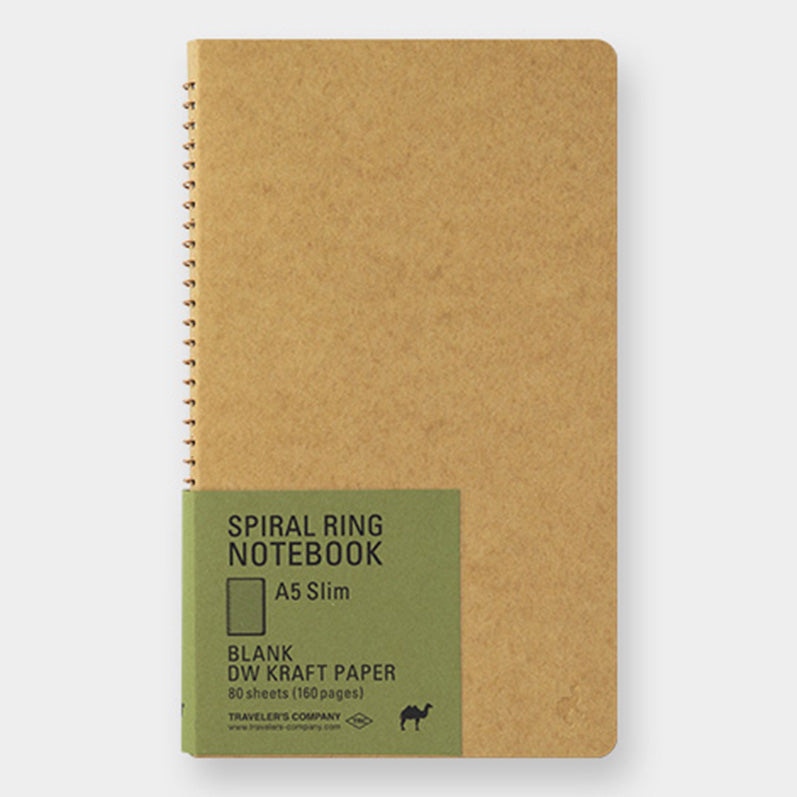 TRC SPIRAL RING NOTEBOOK <A5 Slim> DW Kraft - The Outsiders