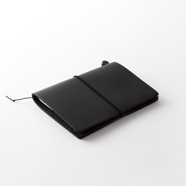 TRAVELER'S Notebook <Passport Size> Black - The Outsiders