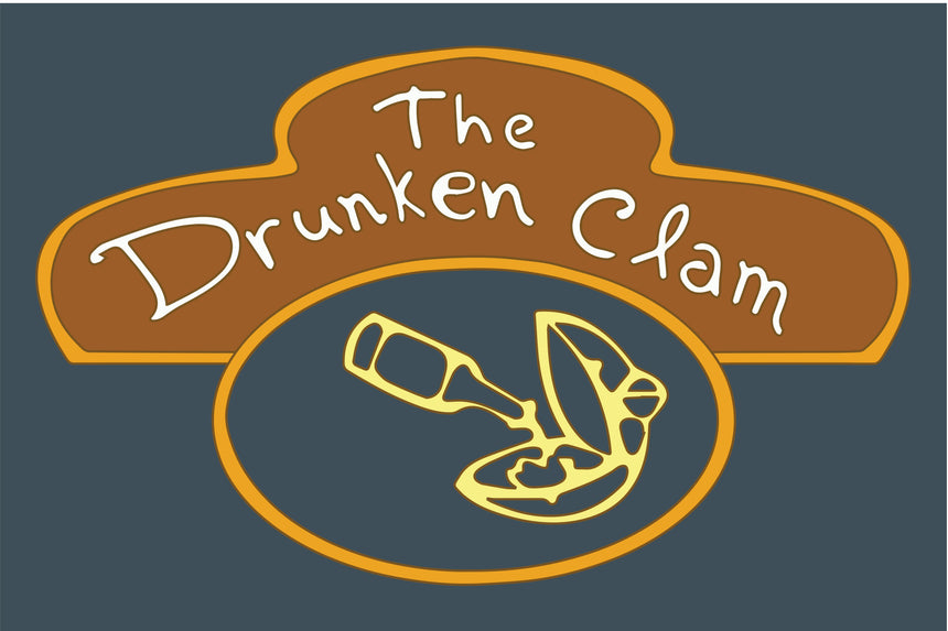 The Drunken Clam Family Guy Sticker