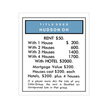 Load image into Gallery viewer, Hudson Monopoly Removable Wall Graphic - Ready to Apply
