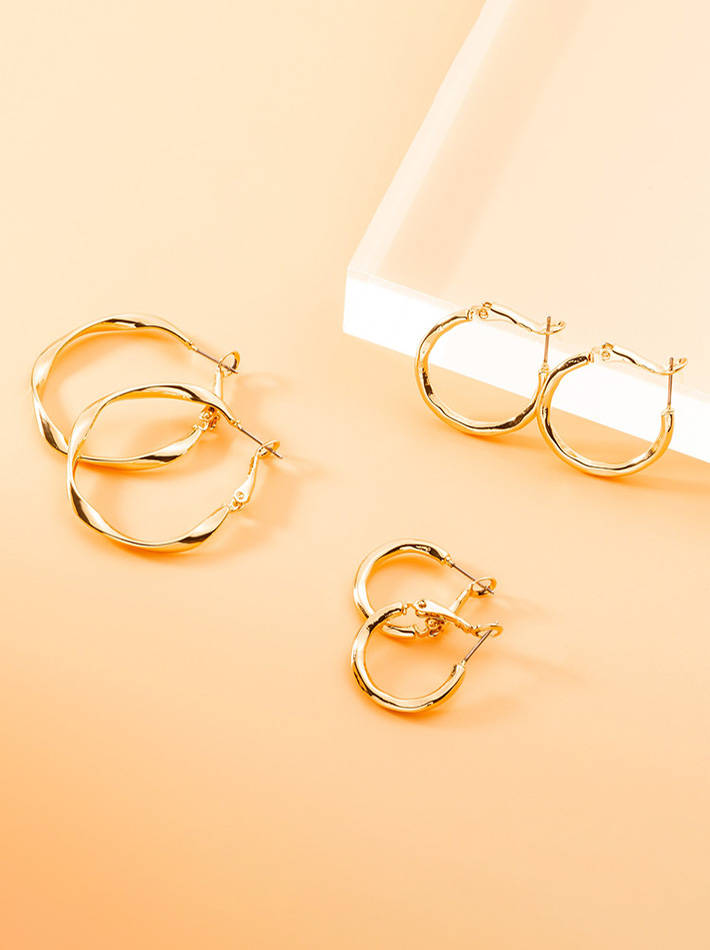 Helix Hoop Earrings Set 20 /25 /35mm