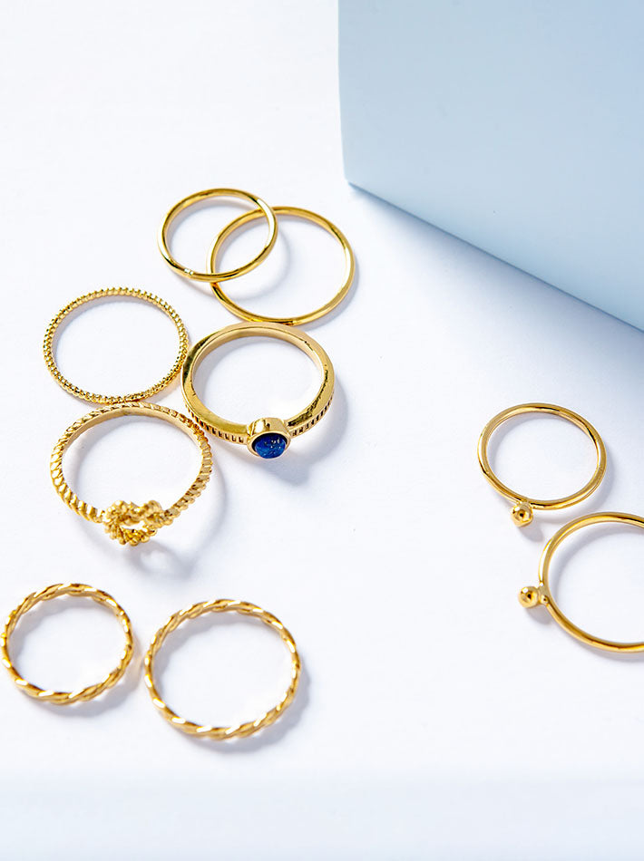 Romance Stackable Rings
