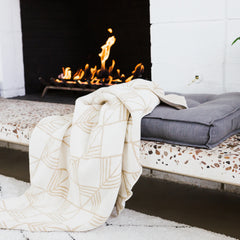 Avalon Gilded Throw
