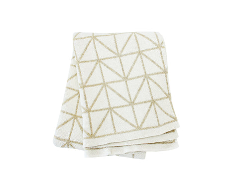 Bijoux Cotton Knitted Throw