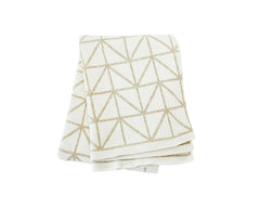 Bijoux Cotton Knitted Throw Blanket