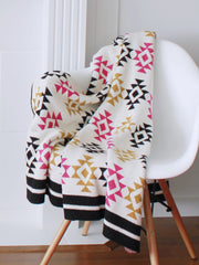 Tribe Cotton Knitted Throw