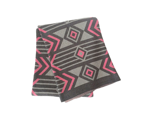 Union Cotton Knitted Throw Blanket