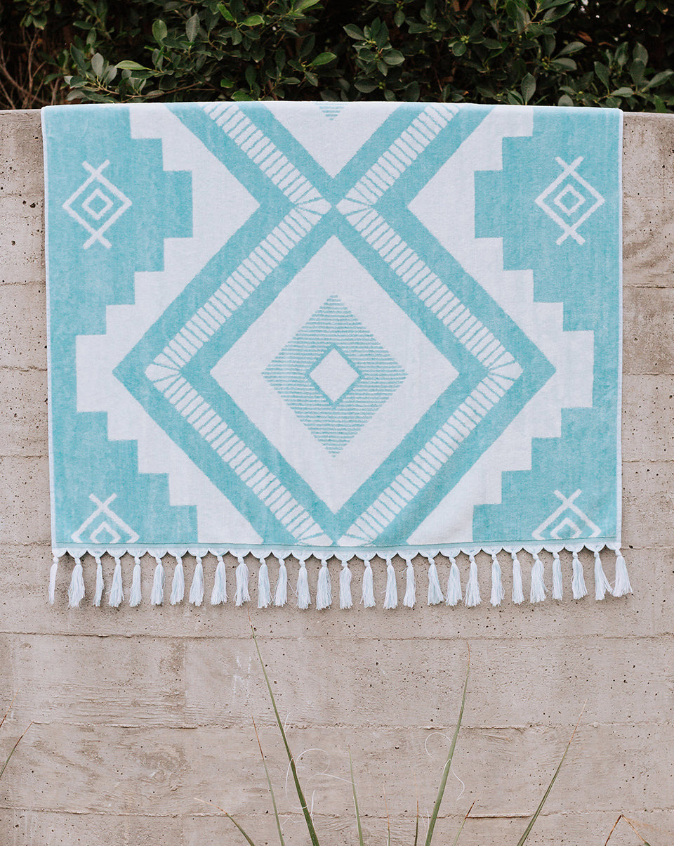 Mosaic Beach Towel