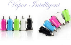 Mini USB Car Charger Vehicle Power Adapter USB 2-Port for iPod iPhone 4, 5, C, S