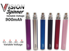 Ego Twist 900 mAh Battery Vision Spinner Variable Voltage