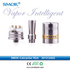 Genuine Smoktech Caterpillar RDA Rebuildable Dual Coil Atomizer