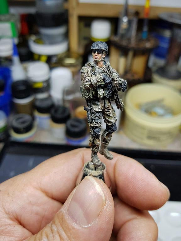 Yufan model soldier USK-13 painted and assembled