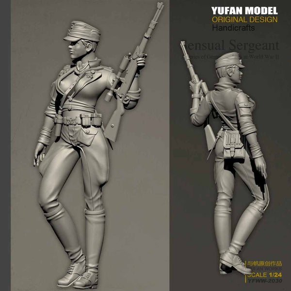 ic: German sexual female sniper scale model