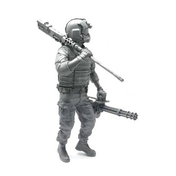 1:35 US Helicopter Technical Service Soldier Resin Scale Figure BEE-03 - Yufan Models Store