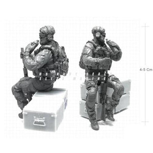 1:35 Scale Resin Model US Army Special Forces Soldier Drink a Water NAI-19 - Yufan Models Store