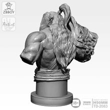 Load image into Gallery viewer, 1:16 Bust Orc World of Warcraft Resin Scale Figure 50mm TD-2083 - Yufan Models Store
