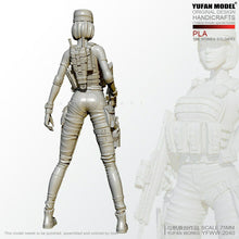 Load image into Gallery viewer, 1:24 Female PLA special forces soldier Resin Scale Figure YFWW-2040 - Yufan Models Store