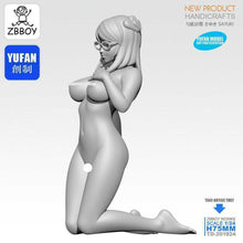 Load image into Gallery viewer, 1:24 Beautiful Pretty Girl Resin Scale Figure TD-201924 - Yufan Models Store