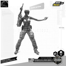 Load image into Gallery viewer, 1:35 US Army Female Sexy Soldier Resin Scale Figure SII-02 - Yufan Models Store