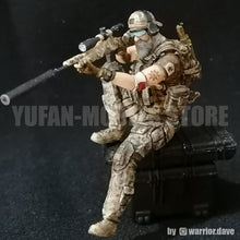 Load image into Gallery viewer, 1:35 US SEAL Sniper Team Soldier Resin Scale Figure YFWW-1990