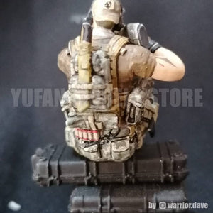 1:35 US SEAL Sniper Team Soldier Resin Scale Figure YFWW-1990