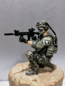 1:35 Blue Devil Soldier Model US Special Forces Resin Scale Figure LJH-06