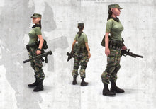 Load image into Gallery viewer, 1:35 Chinese Modern Soldiers Team 4 figures set Military Model Resin Scale Figure YFWW-1636 - Yufan Models Store