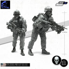 Load image into Gallery viewer, 1:35 US Army Soldier Resin Scale Figure TLP-08 - Yufan Models Store