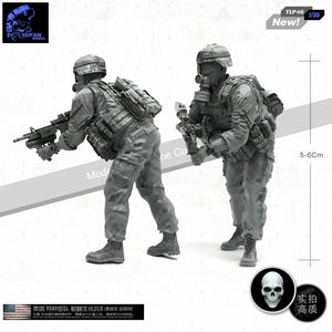 1:35 US Army Soldier Resin Scale Figure TLP-08 - Yufan Models Store