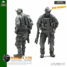 Load image into Gallery viewer, 1:35 US Special Forces Soldier Resin Scale Figure HONG-03 - Yufan Models Store