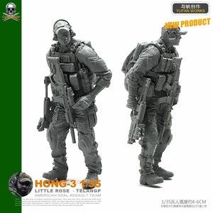 1:35 US Special Forces Soldier Resin Scale Figure HONG-03 - Yufan Models Store