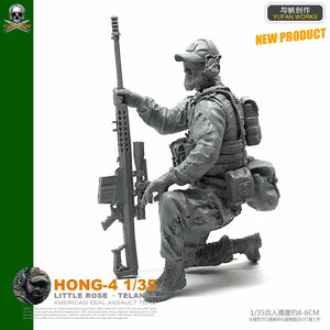 1:35 US Special Forces Soldier Resin Scale Figure HONG-04 - Yufan Models Store