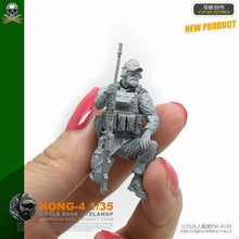 Load image into Gallery viewer, 1:35 US Special Forces Soldier Resin Scale Figure HONG-04 - Yufan Models Store