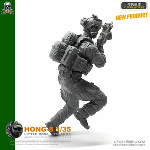 1:35 US Special Forces Soldier resin Scale Figure HONG-08 - Yufan Models Store
