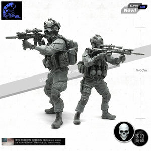 1:35 US Special Force Soldier Resin Scale Figure TLP-05 - Yufan Models Store