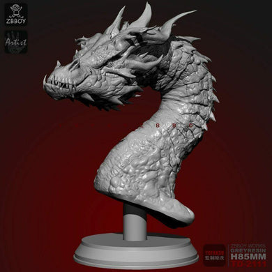 1:18 Fire Dragon Bust Resin Scale Figure TD-2111 - Yufan Models Store