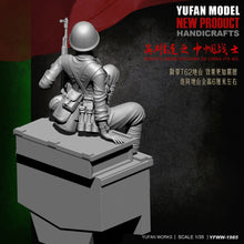 Load image into Gallery viewer, 1:35 Chinese Soldier 1979-80 Female China-Vietnam War Resin Scale Figure YFWW35-1985 - Yufan Models Store
