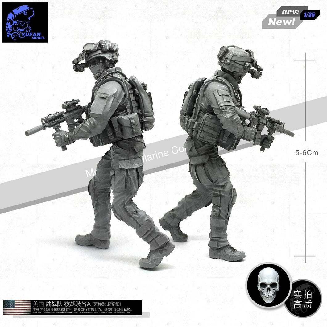 1:35 US Special Force Soldier Resin Scale Figure TLP-02 - Yufan Models Store