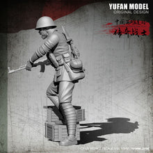 Load image into Gallery viewer, 1:35 Chinese Soldier 1979-80 China-Vietman War Resin Scale Figure YFWW-2008 - Yufan Models Store