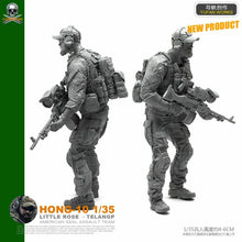 Load image into Gallery viewer, 1:35 US Special Forces Soldier Resin Scale Figure HONG-10 - Yufan Models Store