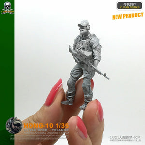 1:35 US Special Forces Soldier Resin Scale Figure HONG-10 - Yufan Models Store