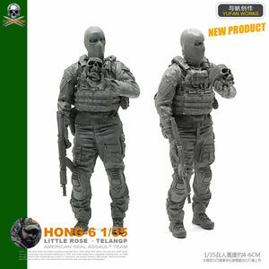 1:35 Rebel Soldier Resin Scale Figure HONG-06 - Yufan Models Store