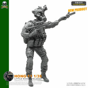 1:35 US Special Forces Soldier Resin Scale Figure HONG-11 - Yufan Models Store