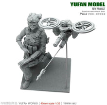 Load image into Gallery viewer, 1:35 US Female Yilia Pilot and Drone Resin Scale Figure YFWW35-1817 - Yufan Models Store