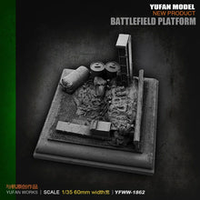 Load image into Gallery viewer, 1:35 Platform for Soldier Figurines Accessories Resin Scale Model YFWW35-1862 - Yufan Models Store