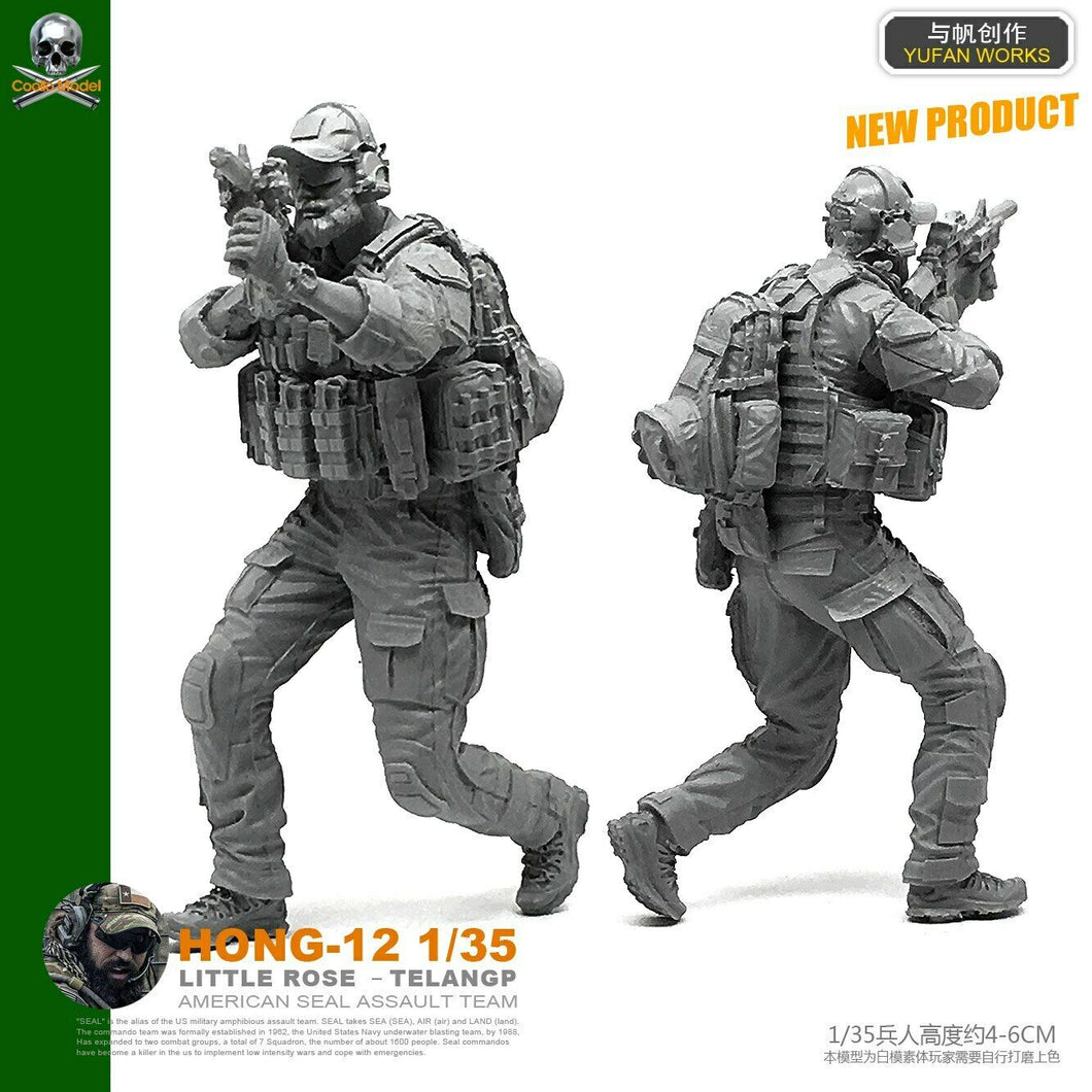 1:35 US Special Forces Soldier Model Resin Scale Figure HONG-12 - Yufan Models Store